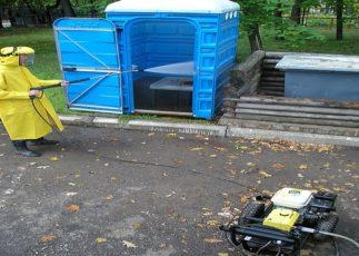 Санитарная обработка биотуалетов